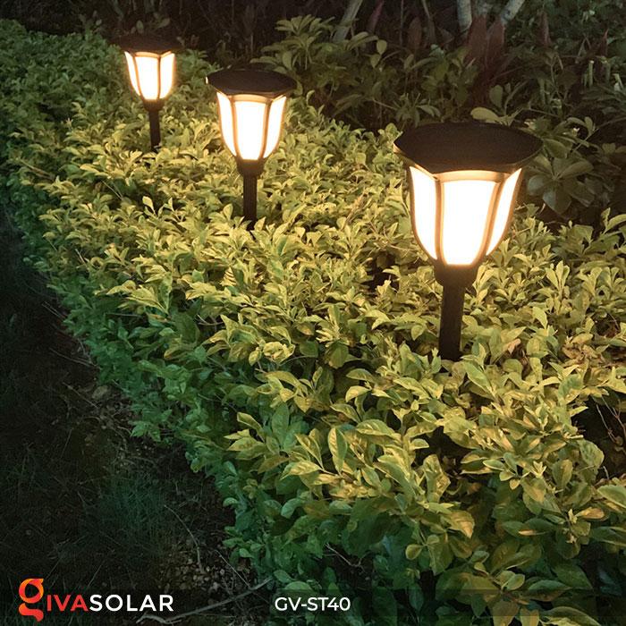 Đèn LED năng lượng mặt trời 3 trong 1 ánh sáng ngọn lửa 11