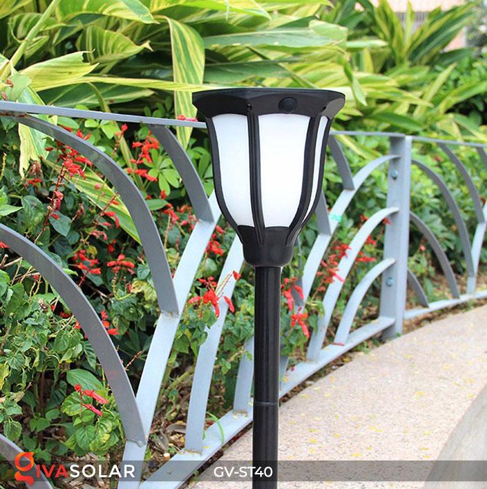 Đèn LED năng lượng mặt trời 3 trong 1 ánh sáng ngọn lửa 7