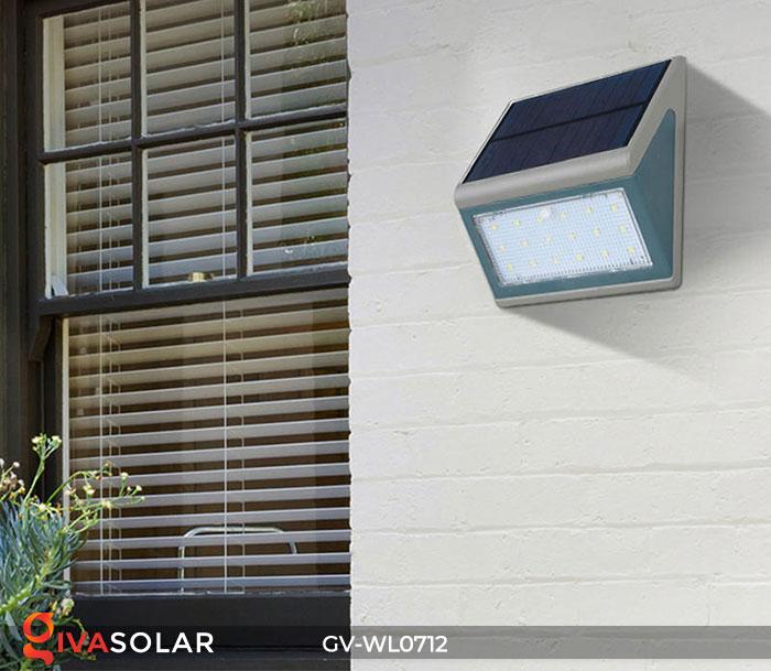 Đèn LED treo tường chạy năng lượng mặt trời GV-WL0712 10