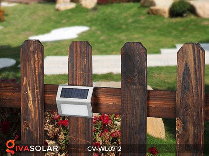 Đèn LED treo tường chạy năng lượng mặt trời GV-WL0712 11