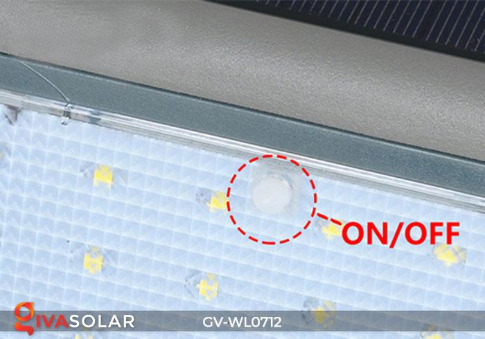Đèn LED treo tường chạy năng lượng mặt trời GV-WL0712 18