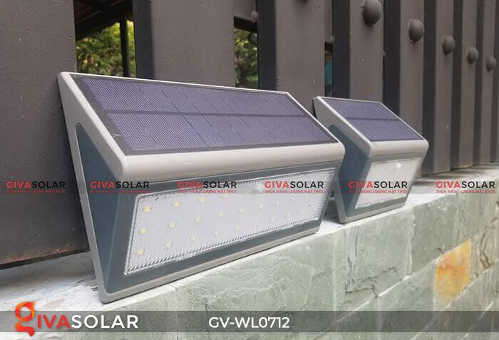 Đèn LED treo tường chạy năng lượng mặt trời GV-WL0712 2