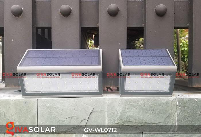 Đèn LED treo tường chạy năng lượng mặt trời GV-WL0712 3