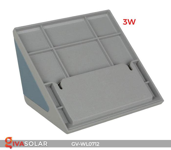 Đèn LED treo tường chạy năng lượng mặt trời GV-WL0712 5