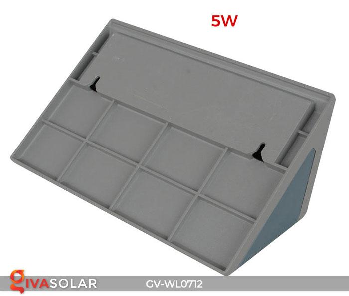Đèn LED treo tường chạy năng lượng mặt trời GV-WL0712 8