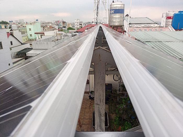 Dự án điện mặt trời hòa lưới 3 pha 5KW cho gia đình chú Phát ở Gò Vấp 10