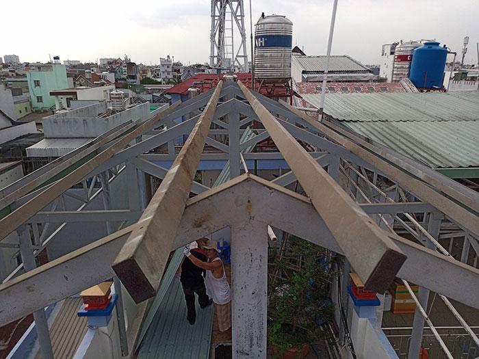 Dự án điện mặt trời hòa lưới 3 pha 5KW cho gia đình chú Phát ở Gò Vấp 3
