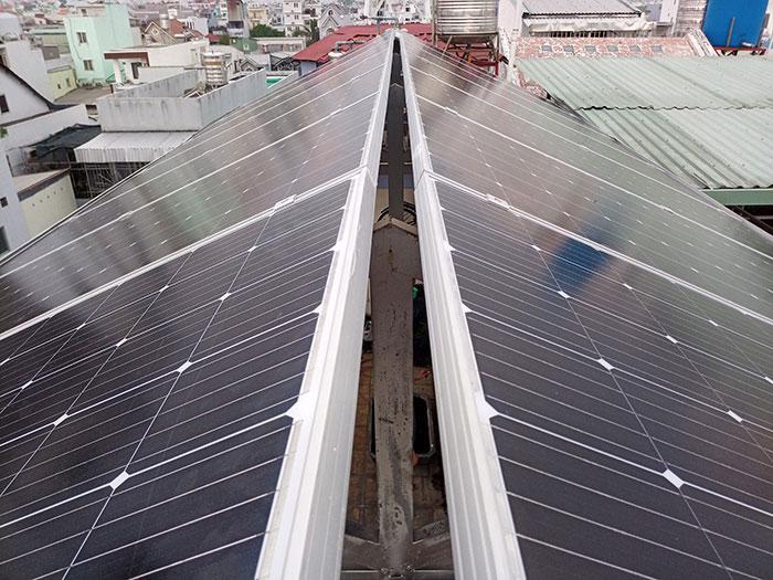 Dự án điện mặt trời hòa lưới 3 pha 5KW cho gia đình chú Phát ở Gò Vấp 5