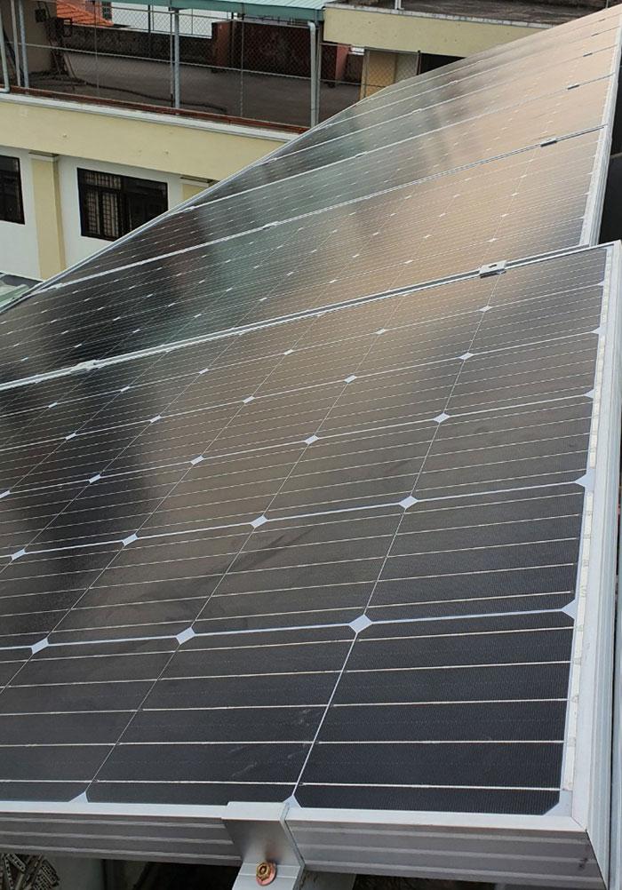 Dự án điện mặt trời hòa lưới 3 pha 5KW cho gia đình chú Phát ở Gò Vấp 8
