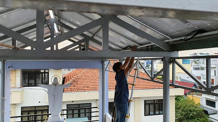 Dự án điện mặt trời hòa lưới 3 pha 5KW cho gia đình chú Phát ở Gò Vấp 9
