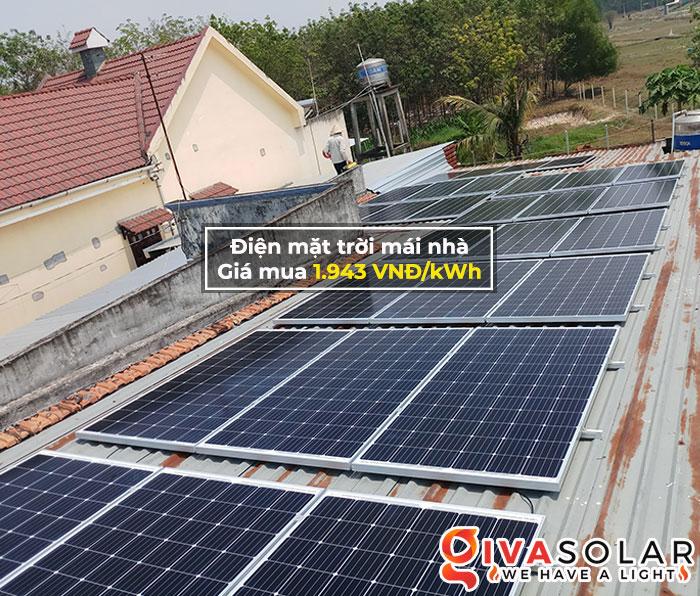 Giá Hệ thống điện mặt trời mái nhà