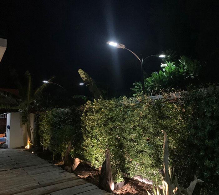 Lắp đặt hệ thống đèn chiếu sáng năng lượng mặt trời ở Khu nghỉ dưỡng & biệt thự Sanctuary Hồ Tràm 17
