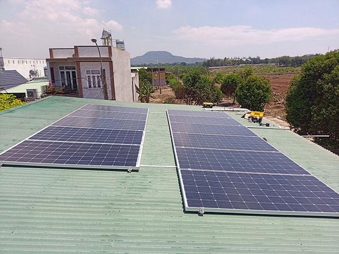Nhà Trọ kết hợp với Điện mặt trời 4kw 1