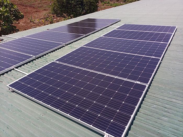 Nhà Trọ kết hợp với Điện mặt trời 4kw 3