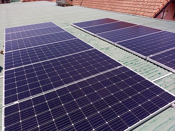 Nhà Trọ kết hợp với Điện mặt trời 4kw 4