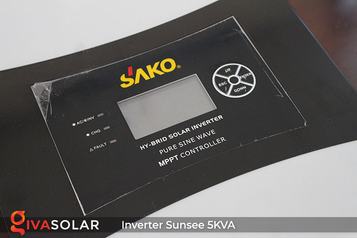 Biến tần độc lập SAKO SUNSEE 5KVA 4