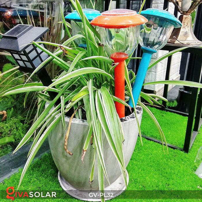 Đèn LED cắm đất trang trí năng lượng mặt trời GV-PL32 1