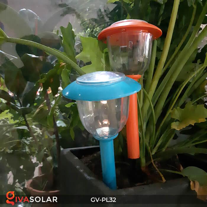 Đèn LED cắm đất trang trí năng lượng mặt trời GV-PL32 3