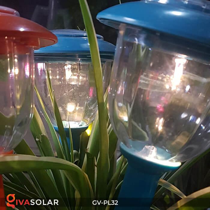 Đèn LED cắm đất trang trí năng lượng mặt trời GV-PL32 4