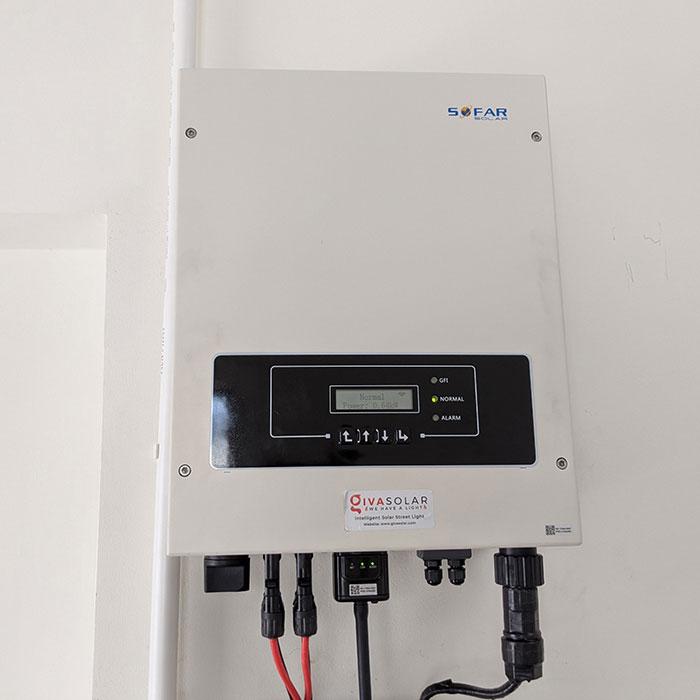 Dự án Điện mặt trời cho gia đình anh Phương ở BRVT 4.2KWP 12