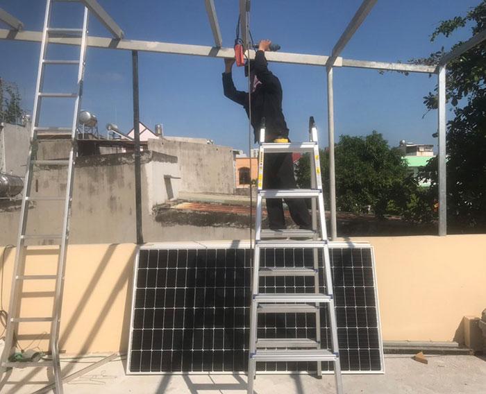Dự án Điện mặt trời cho gia đình anh Phương ở BRVT 4.2KWP 2