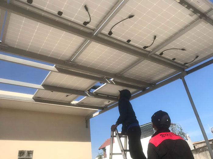 Dự án Điện mặt trời cho gia đình anh Phương ở BRVT 4.2KWP 4