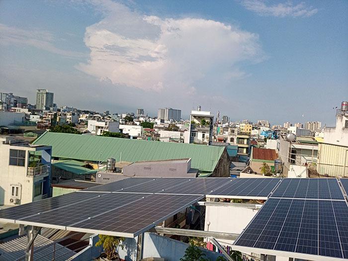 Dự án điện mặt trời hòa lưới 10KW cho gia đình anh Phong ở Quận 8 TPHCM 11