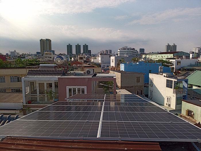 Dự án điện mặt trời hòa lưới 10KW cho gia đình anh Phong ở Quận 8 TPHCM 13