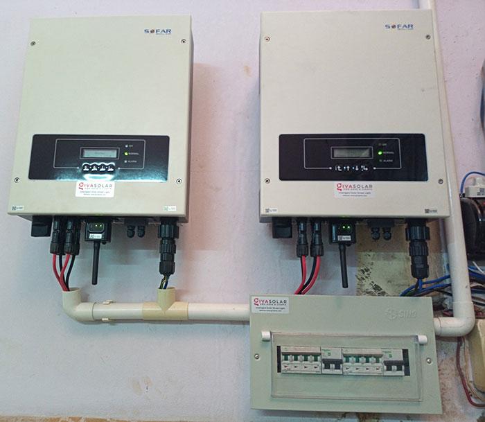 Dự án điện mặt trời hòa lưới 10KW cho gia đình anh Phong ở Quận 8 TPHCM 14