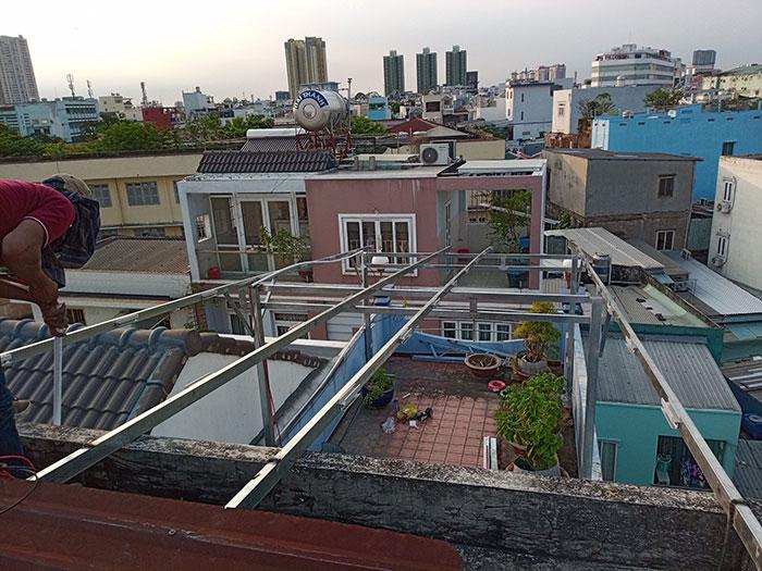 Dự án điện mặt trời hòa lưới 10KW cho gia đình anh Phong ở Quận 8 TPHCM 3