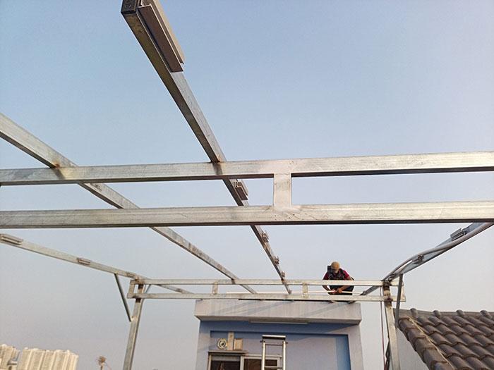 Dự án điện mặt trời hòa lưới 10KW cho gia đình anh Phong ở Quận 8 TPHCM 4