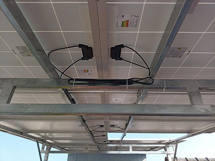 Dự án điện mặt trời hòa lưới 10KW cho gia đình anh Phong ở Quận 8 TPHCM 5