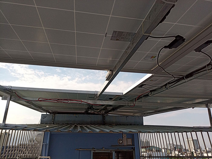 Dự án điện mặt trời hòa lưới 10KW cho gia đình anh Phong ở Quận 8 TPHCM 7