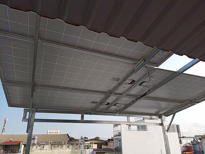 Dự án điện mặt trời hòa lưới 10KW cho gia đình anh Phong ở Quận 8 TPHCM 8