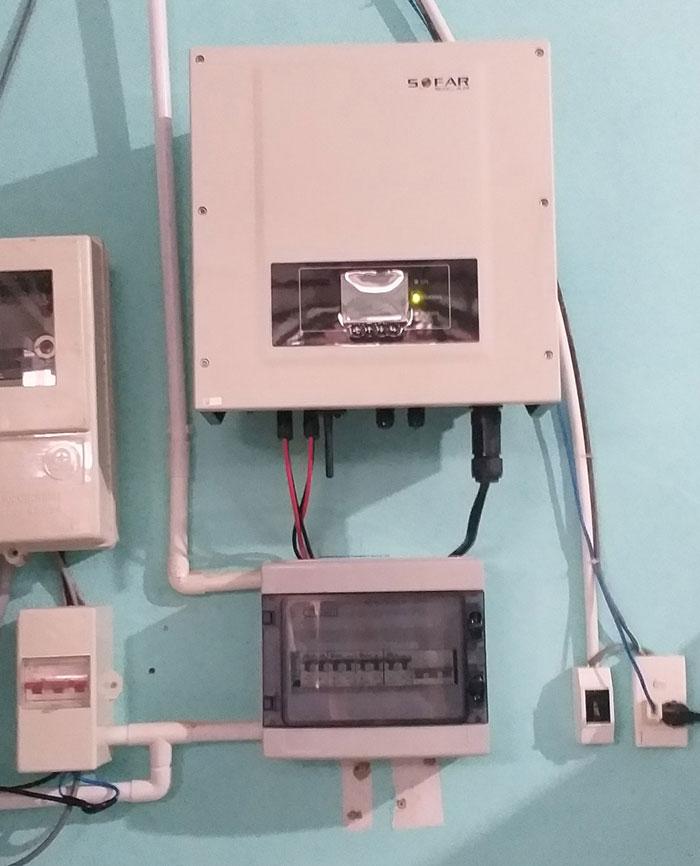 Dự án điện mặt trời hòa lưới cho gia đình anh Tấn ở Củ Chi 10KWp 10