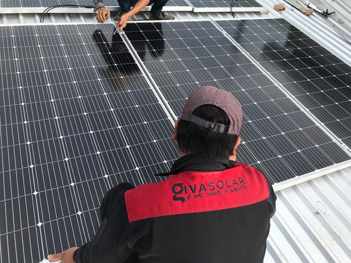 Dự án điện mặt trời hòa lưới cho gia đình anh Tấn ở Củ Chi 10KWp 7
