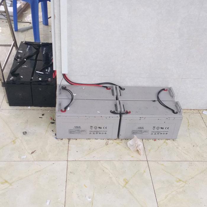 Dự án điện mặt trời hòa lưới có lưu trữ 10KW ở Tiền Giang 10