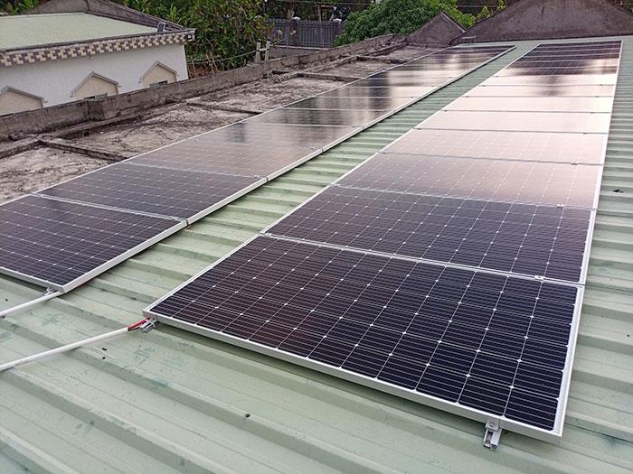 Dự án điện mặt trời hòa lưới có lưu trữ 10KW ở Tiền Giang 6