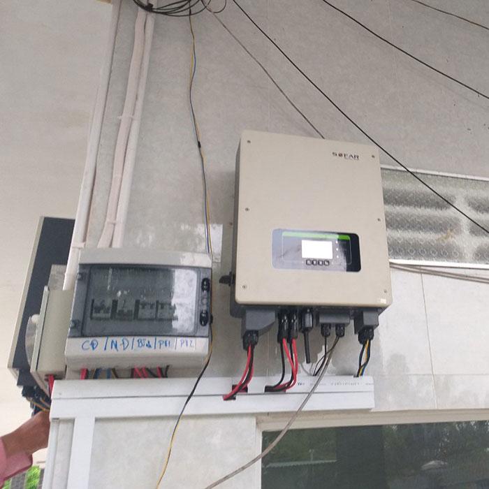 Dự án điện mặt trời hòa lưới có lưu trữ 10KW ở Tiền Giang 9