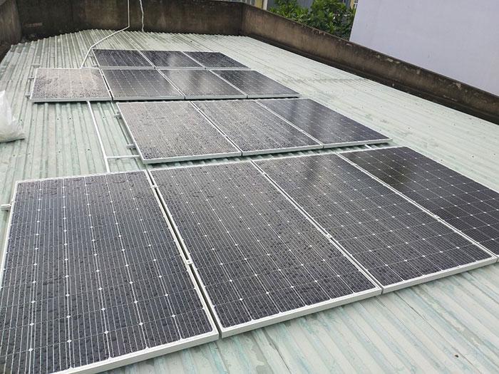 Dự án hòa lưới điện mặt trời 5KWp cho gia đình chị Mai ở Quận 8 2