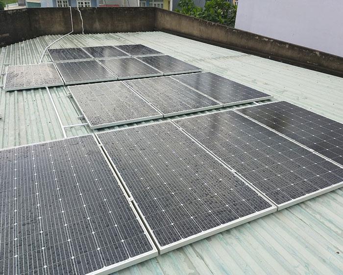 Dự án hòa lưới điện mặt trời 5KWp cho gia đình chị Mai ở Quận 8 3