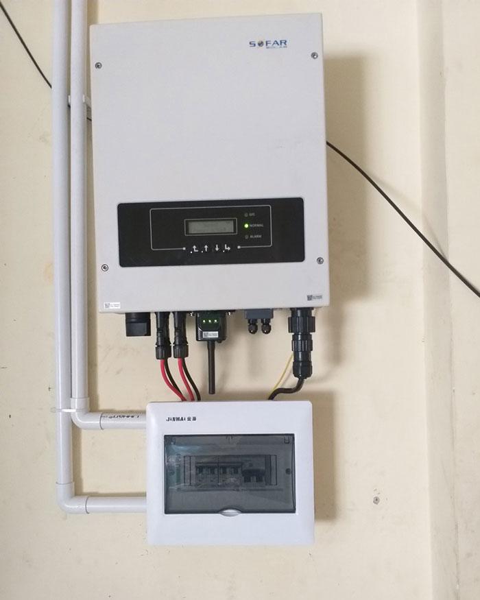 Dự án hòa lưới điện mặt trời 5KWp cho gia đình chị Mai ở Quận 8 5