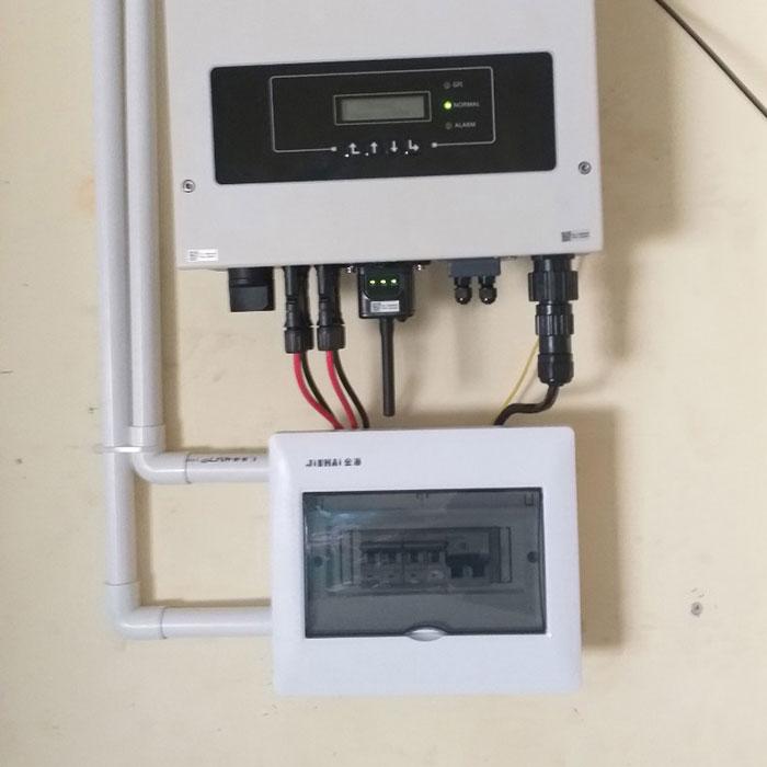 Dự án hòa lưới điện mặt trời 5KWp cho gia đình chị Mai ở Quận 8 6