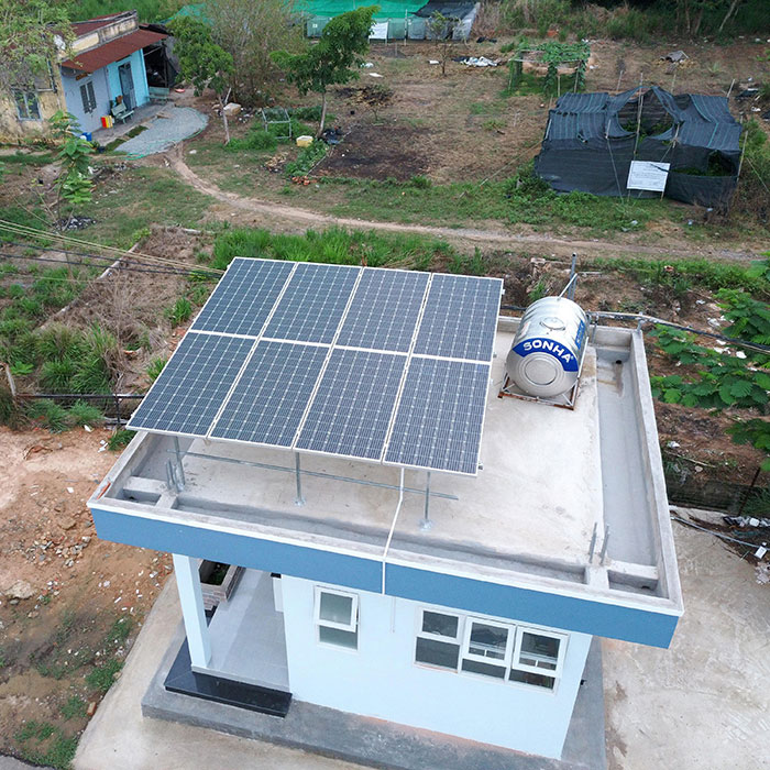 Dự án năng lượng mặt trời cho Trường ĐH Nông Lâm TPHCM 2