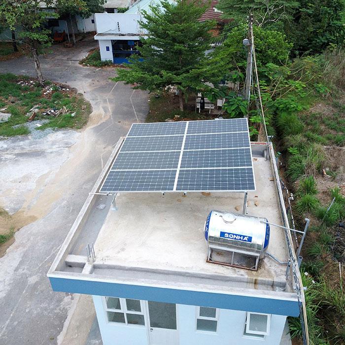 Dự án năng lượng mặt trời cho Trường ĐH Nông Lâm TPHCM 3