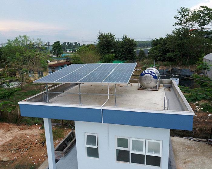 Dự án năng lượng mặt trời cho Trường ĐH Nông Lâm TPHCM 4