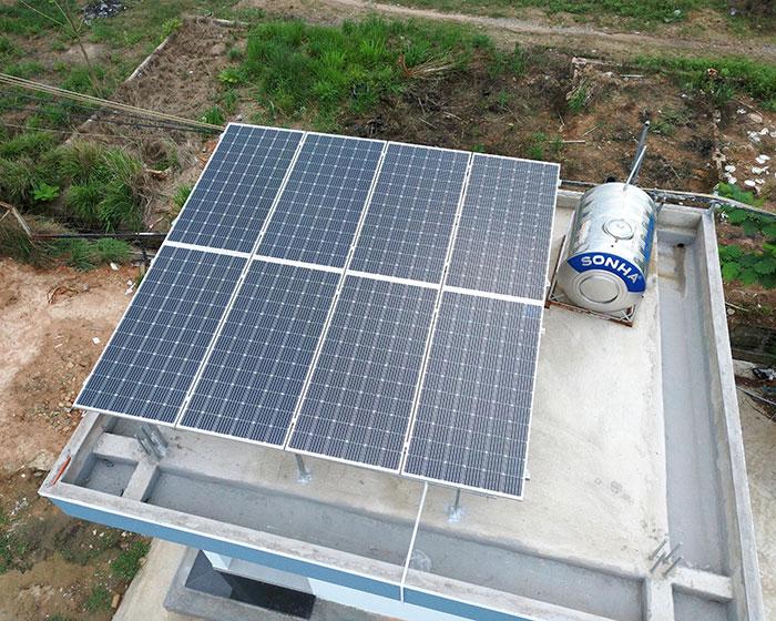 Dự án năng lượng mặt trời cho Trường ĐH Nông Lâm TPHCM 5