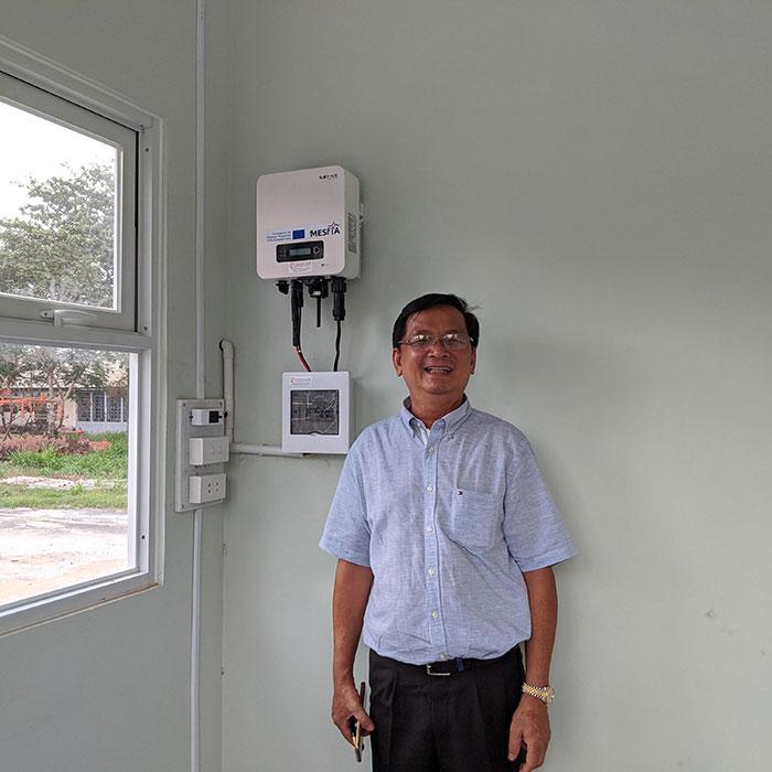 Dự án năng lượng mặt trời cho Trường ĐH Nông Lâm TPHCM 6