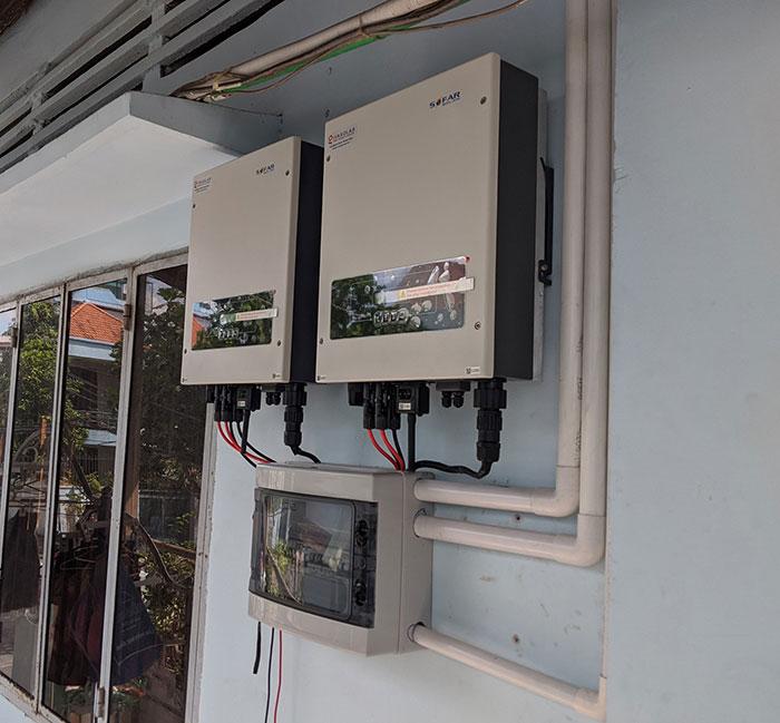 dự án điện mặt trời hòa lưới 12 KW cho anh Trí ở Tân Phú 11