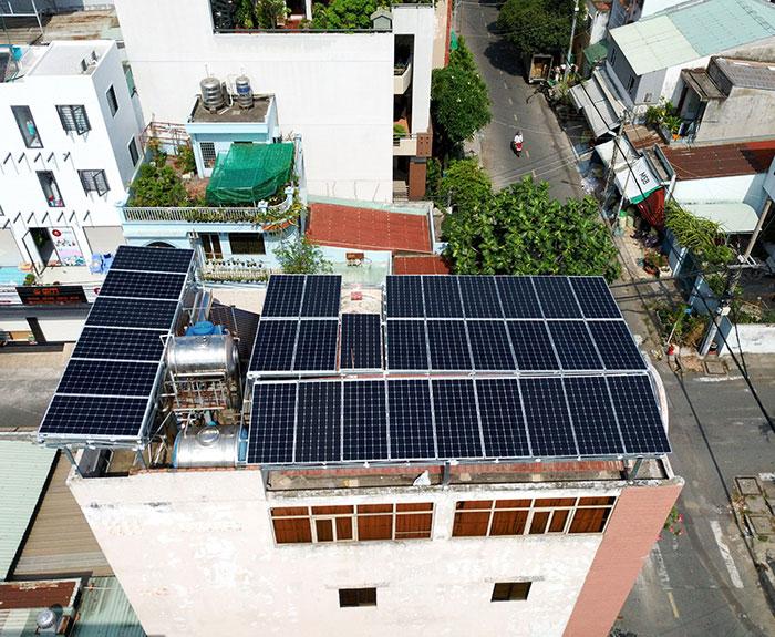 dự án điện mặt trời hòa lưới 12 KW cho anh Trí ở Tân Phú 3